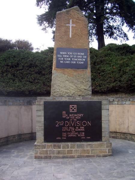 Keep Em Moving Photos Of Kohima Cemetery And Cameron Memorials Kohima